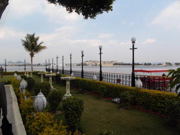 View of Udaipur from Jagmandir Island