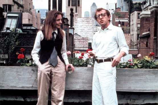 Woody Allen and Diane Keaton