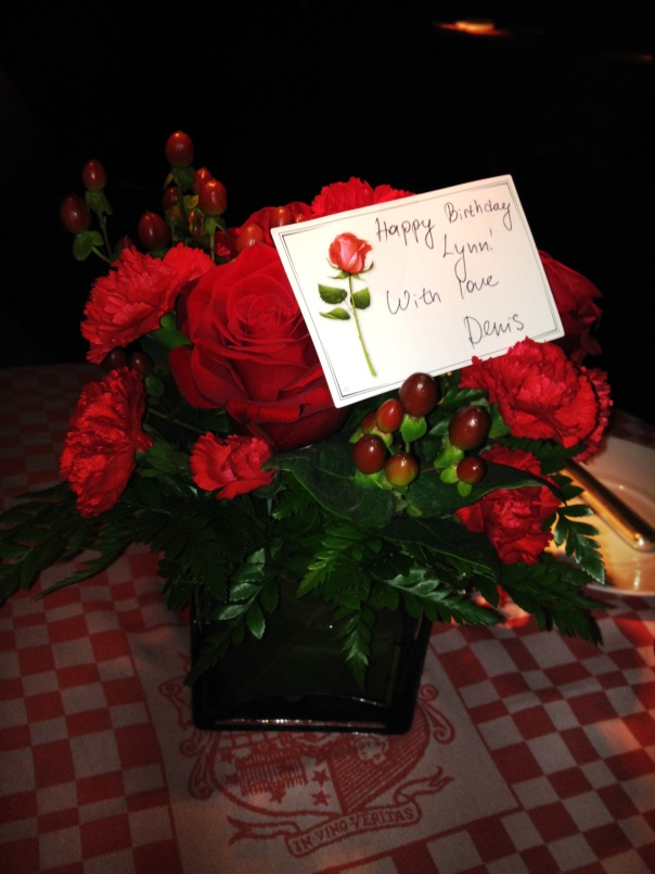 21 Club in New York City - Roses for a special occasion
