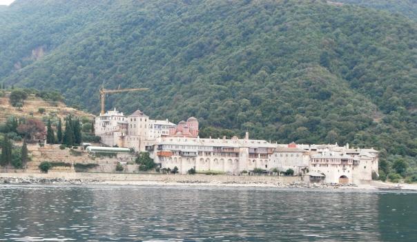 Mount Athos : One of the monasteries